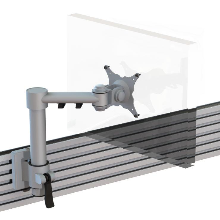 Ergo Ltd Single Beam Arm With Manual Height Adjustment