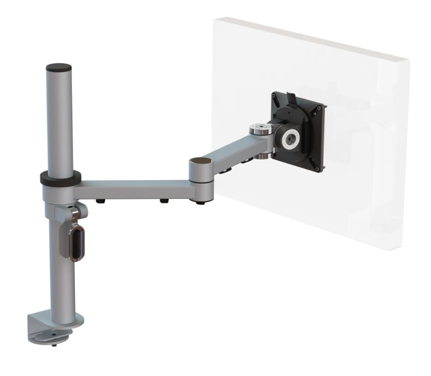 Ergo Ltd X Stream Two Beam Post Mounted Monitor Arm With