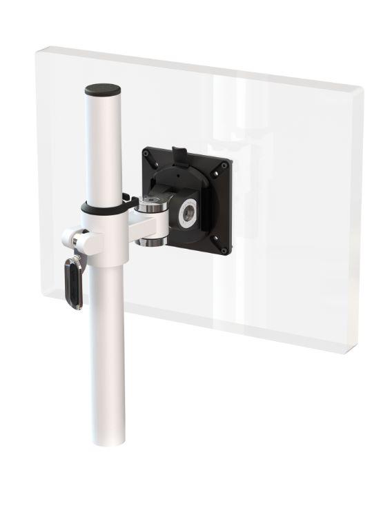 Ergo Ltd Height Adjustable Post Mounted Single Knuckle