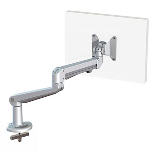 Ergo Ltd Ascend Gas Arm With Through Desk Silver